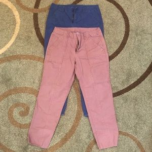 Set of two old navy utility style pants